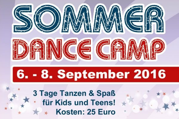 JMD: Sommer Dance Camp