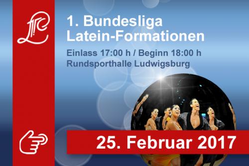 1. Bundesliga der Lateinformationen am 25. Februar 2017