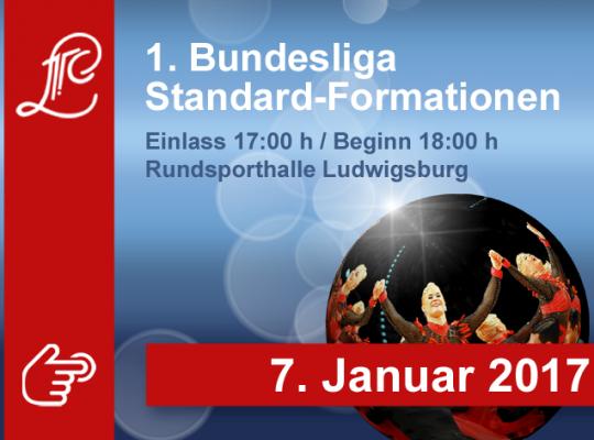 1. Bundesliga der Standardformationen am 07. Januar 2017