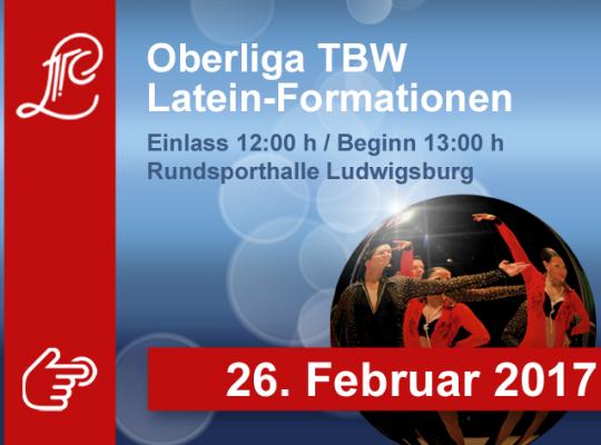 Oberliga Baden-Württemberg der Lateinformationen am 26. Februar 2017