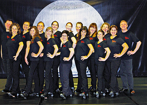 Stolze Truppe: die Formation Tap2gether