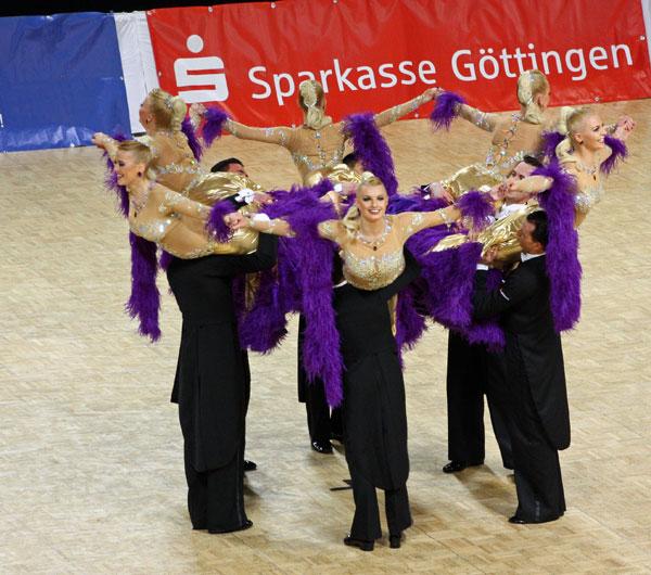 Da ist sie wieder die Krone! Premiere für sechs Paare in Göttingen unter dem Jubel der Zuschauer